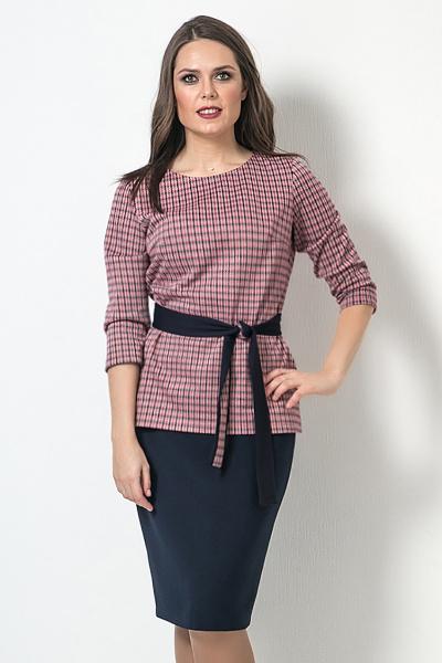 Блуза с поясом, Б-261