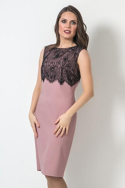 Платье без рукавов, П-567